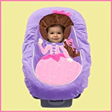 car seat cutie, infant car seat cover, baby car seat cover, costume, plush, character, travel, gift