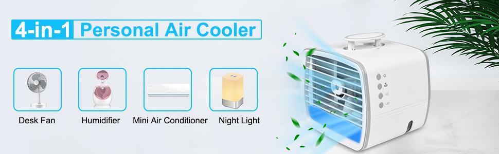 4-in-1 Personal Air Cooler
