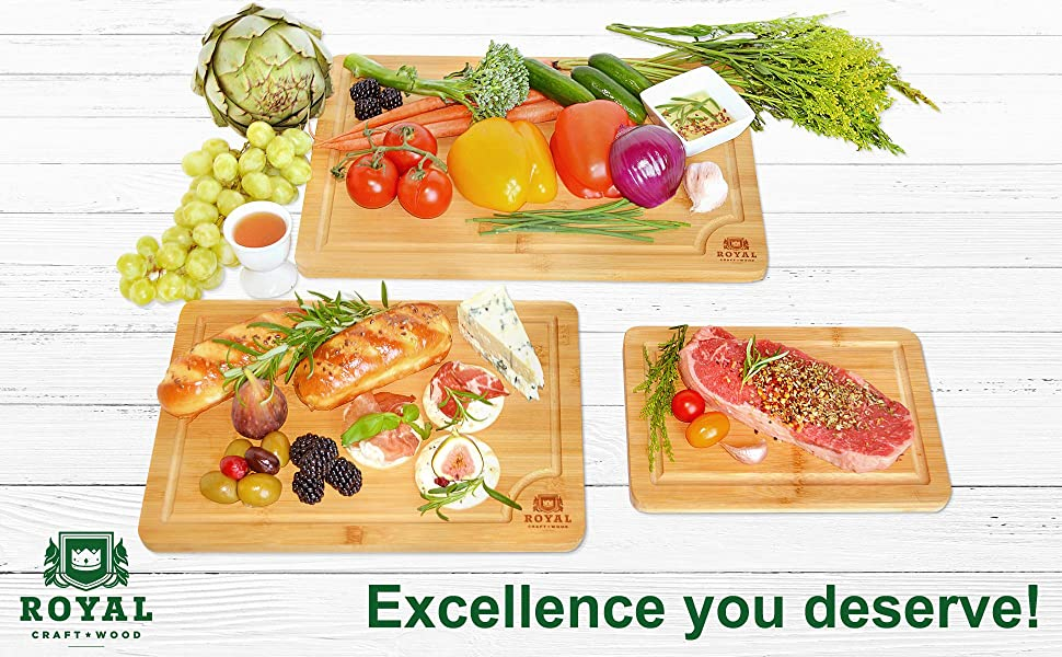cutting board set, bamboo cutting boards for kitchen, cutting board wood, extra large cutting board