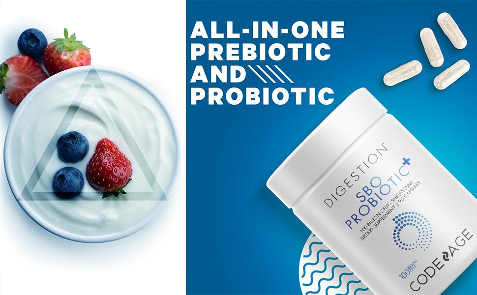 Codeage - SBO 100 Billions Probiotics for Women and Men