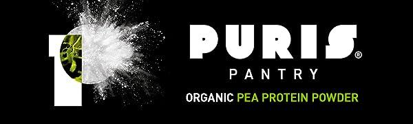 PURIS Pantry Organic Pea Protein Powder