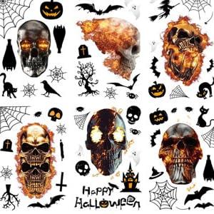 Halloween Glass Decals
