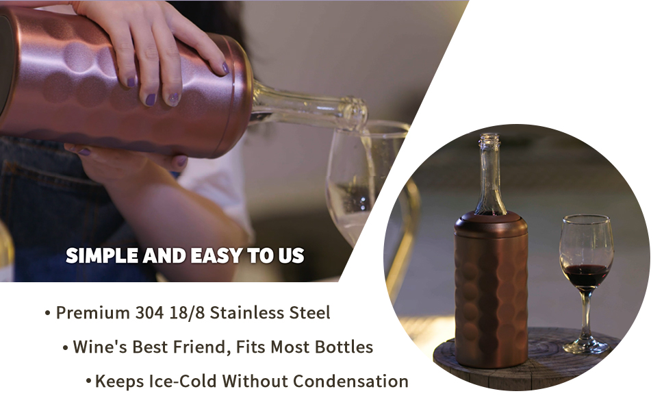 Keeps Ice-Cold Without Condensation
