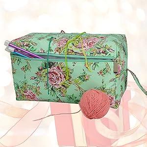 Katech Green Yarn Storage Bag
