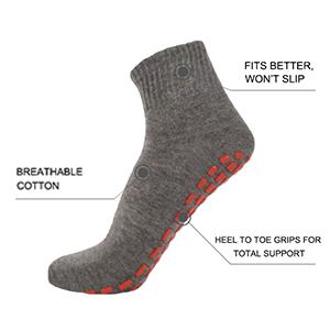 Non-slip grip socks