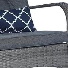 Dark grey cushion