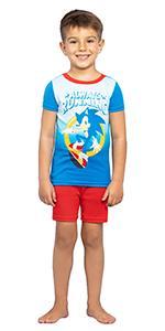 sonic the hedgehog boys pajama