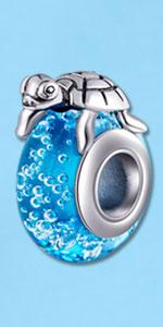 turtle charm bead
