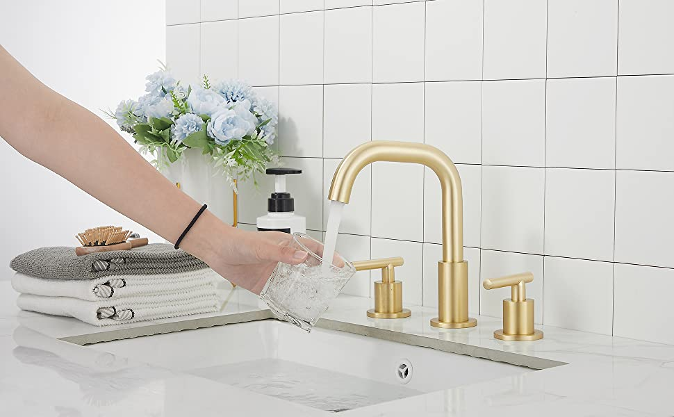 brushed gold  faucet