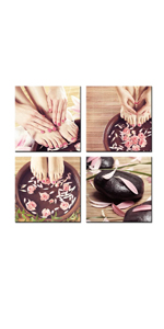 Hands Spa Picture Painting