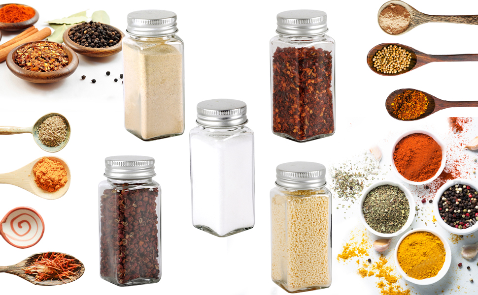 Spice Jars 25 Pcs