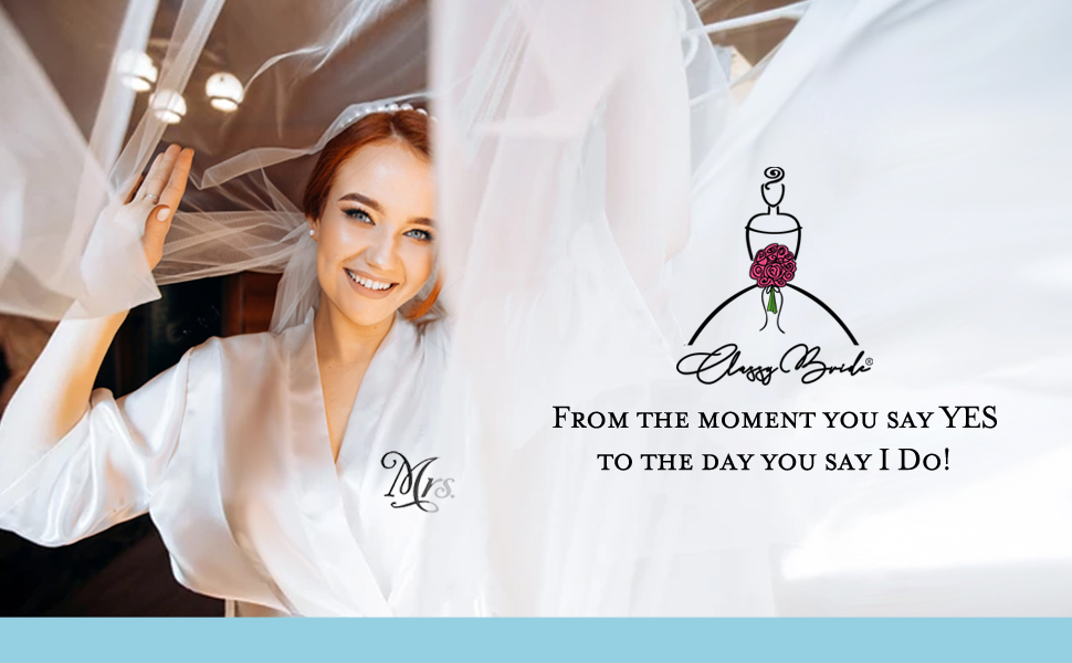 Wedding Day Robes for the Bride and Groom, Personalized Robes, Satin Robes for Couple