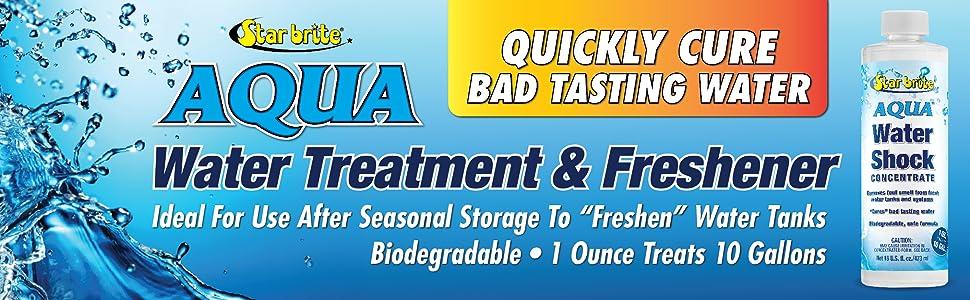 Star brite Aqua Water Treatment amp; Freshner, RV Water Shock Treatment