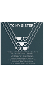 3 sister necklace