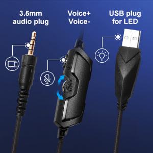 usb gaming headset