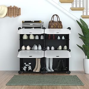 The right shoe rack will help you store more shoes in less space