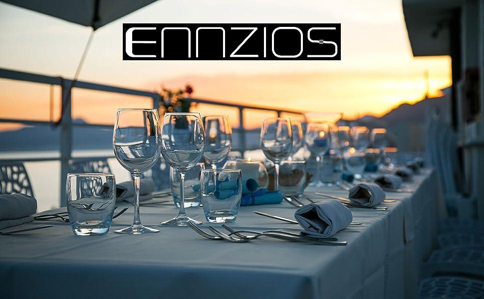 ENNZIOS flatware silverware set