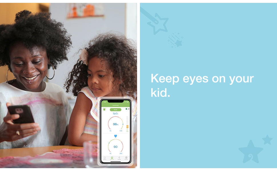 wellue kids O2 ring - keep eyes on your kids