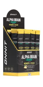 Onnit Alpha Brain Instant - Pineapple Punch