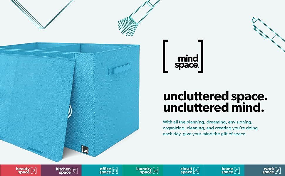 uncluttered space uncluttered mind