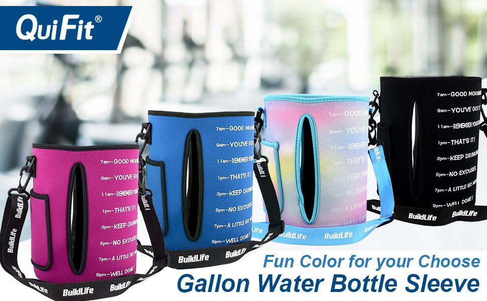 gallon water bottle sleeve