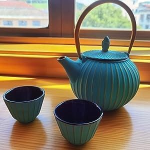 MILVBUSISS cast iron teapot