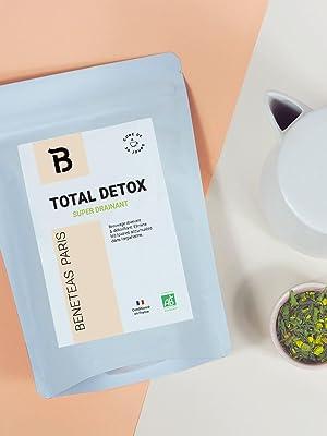 total detox sachet vrac thé minceur infusion détox digestion bio purifie toxines bien-être panda tea