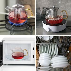 stovetop microwave dishwasher
