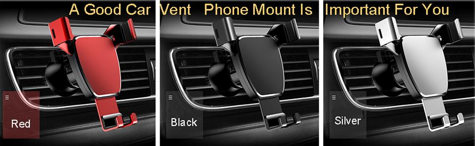A good car vent phone mount is important for you