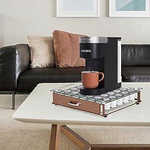 coffee pod storage drawer