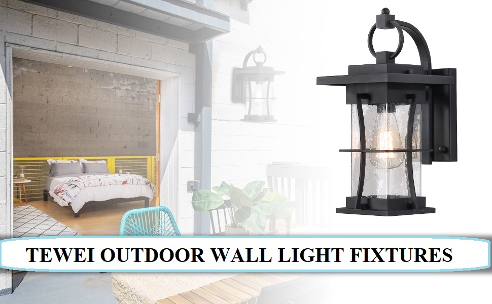 TEWEI Outdoor Wall Light Fixtures -TMFX