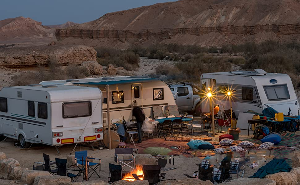 For RV camping