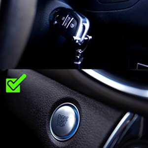 COMPATIBLE WITH KEY AND KEYLESS CAR STARTER SYSTEM