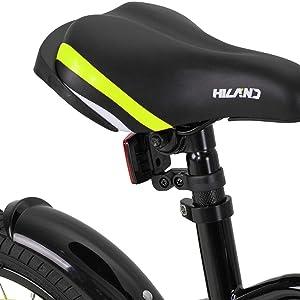 ergonomischer Fahrradfahrradsitz