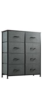 WLIVE Dresser with 8 Drawers
