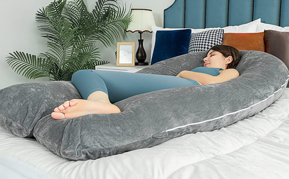 pregnancy pillow queen rose