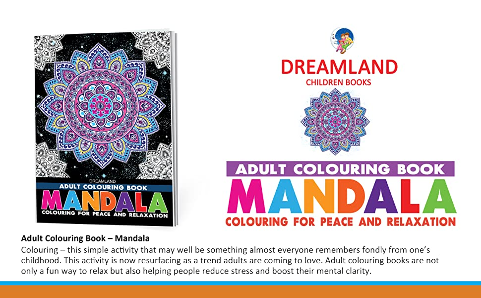 Adult colouring for peace and relaxation, Mandala, Fashion, motivation