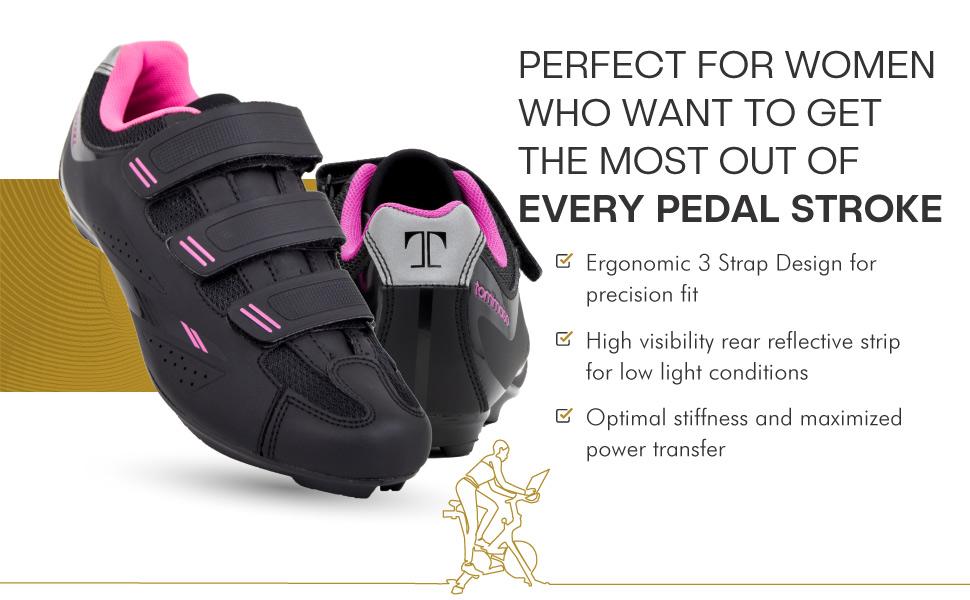 Tommaso Pista 100 Cycling Shoes peloton compatible shoes women delta cleat