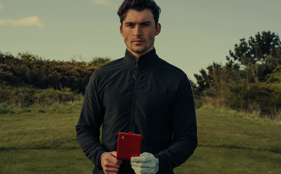 TORRO Genuine Leather Golf Accessory Wallet Set