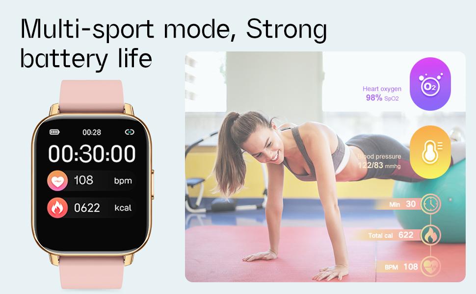 fitness activity tracker watch