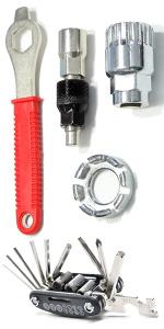Bike Repair Tool Set + Multi-Functional Tool