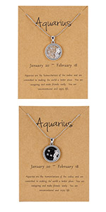 12 Constellation Astrology necklace