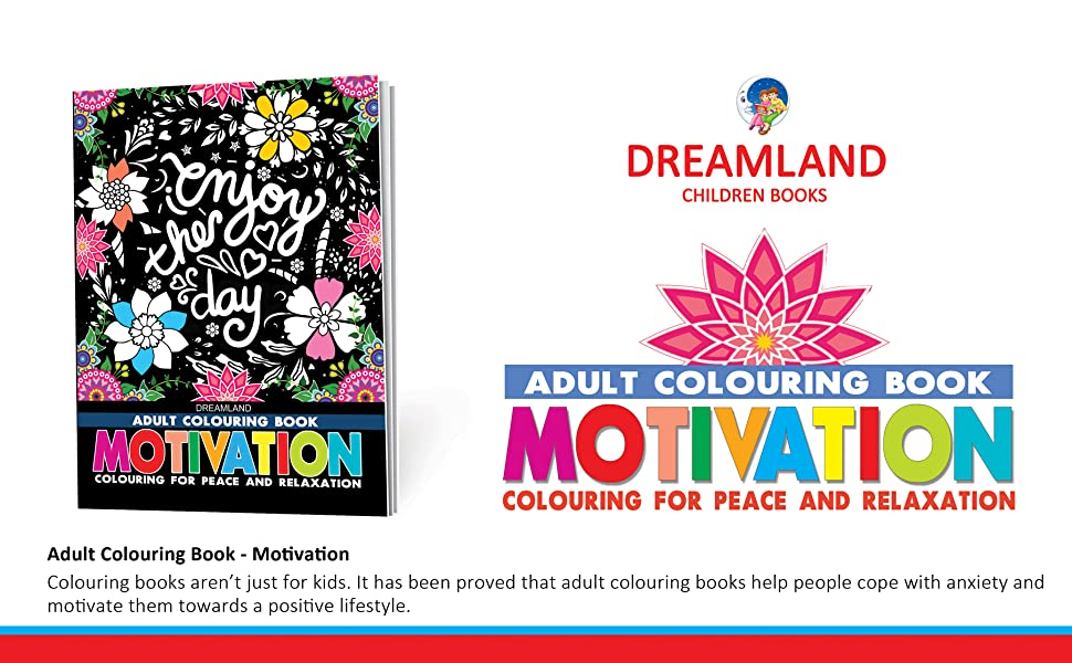9387177033, motivation, adult colouring books, stress buster