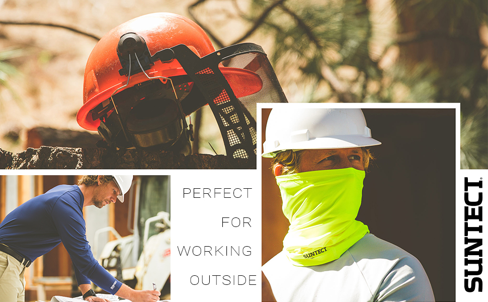 SUNTECT sun protective apparel is perfect for working outside