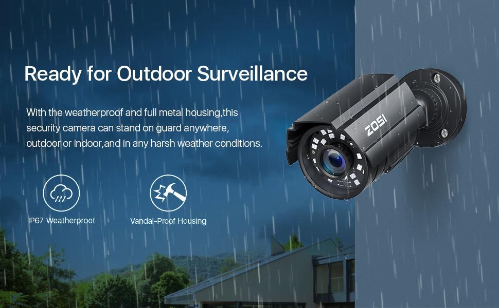 Outdoor Waterproof Security Camera