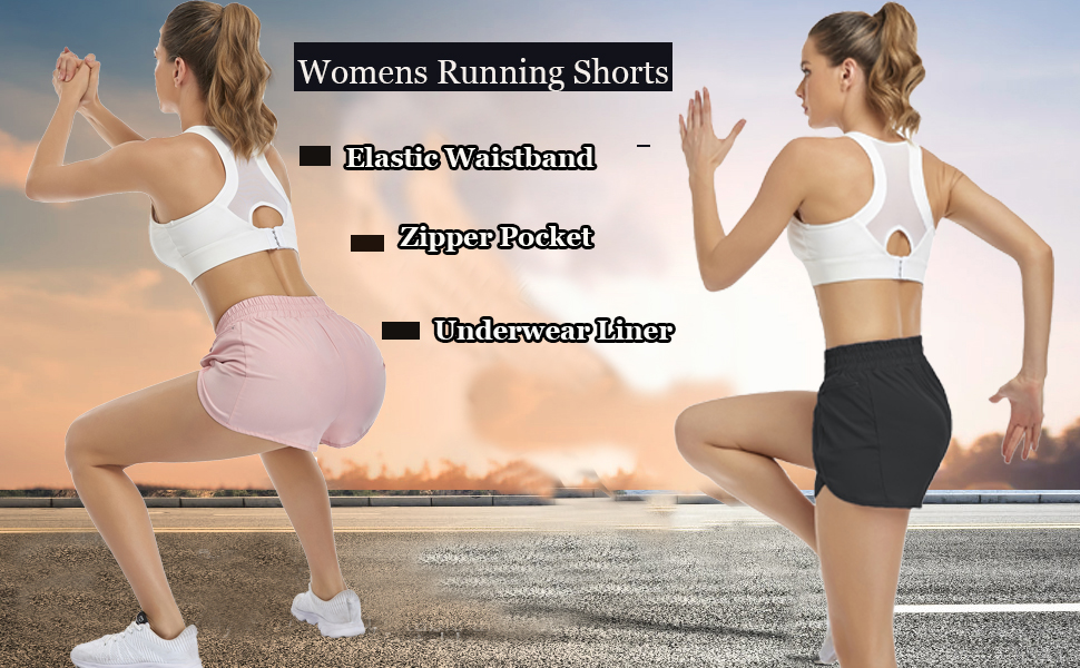 Quick-Dry Workout Shorts