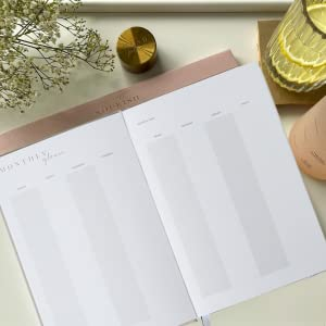 Undated Monthly Planner