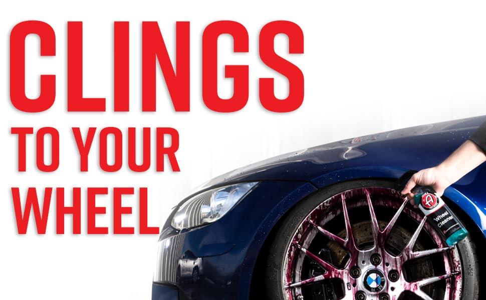Adam's wheel Cleaner Mercedes Bmw chemical guys shine armor car wash foam cannon ceramic coating