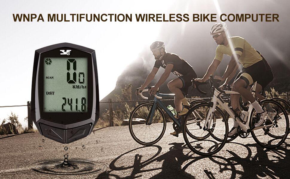 WNPA Bike Computer Wireless