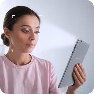Face-unlock your tablet